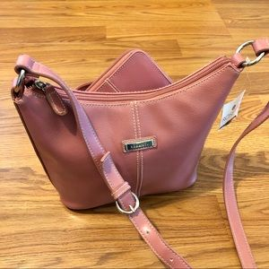 👛 Rosetti Pink Bucket Purse and Wallet Set